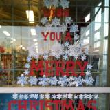 snowflake tree Merry Christmas