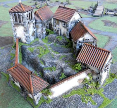 Spanish Monastery 15mm