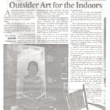 Outsider Art for the Indoors