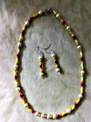 mixed glass bead set