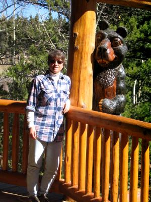 Railing Bears