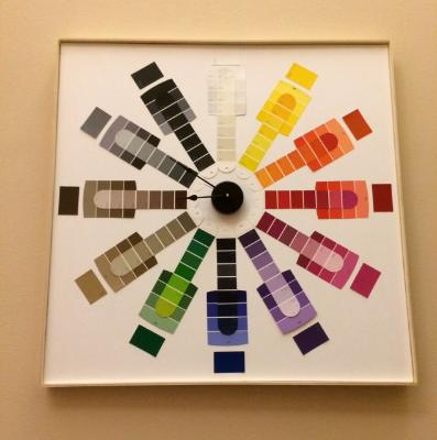 Time to Pick a Paint Color Clock