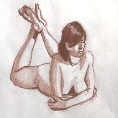 Female Nude Prone