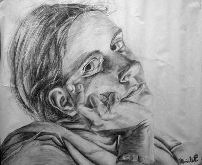 3.5x4Ft Self Portrait