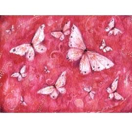 """""""DayDream"""" fantasy butterfly greeting card"""