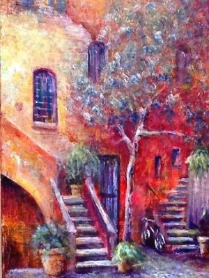 Roman Courtyard 2 - SOLD