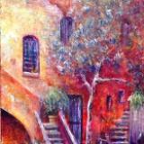 Roman Courtyard 2 - SOLD