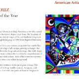 MAY ALSOUZ -VIRGINA ARTIST 2015  EXPLORING TOSCA  MAGAZINE USA