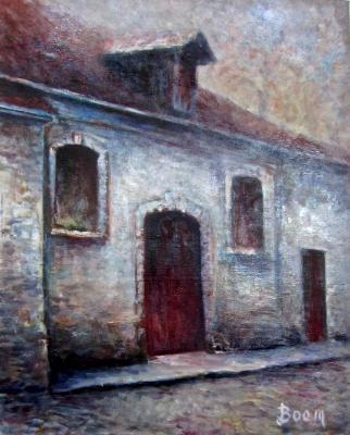 Barn in French Village