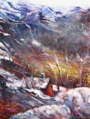 From the Train to Bergen - SOLD
