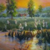 The Dance of the Cattails