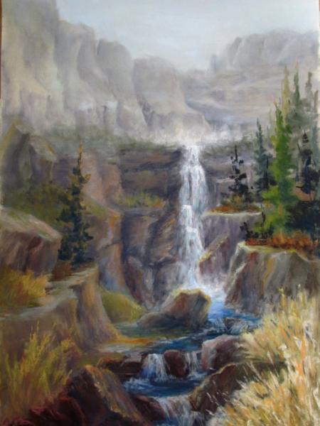 Spring Melt Buck Mountain, Cody