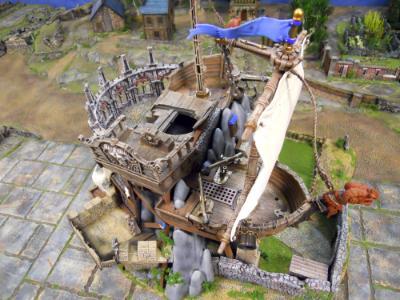 Skulls & Ships Inn (battlements)