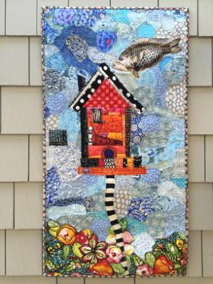 Birdhouse with Fish (nfs)