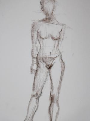 Sarena, Frontal Standing Gesture