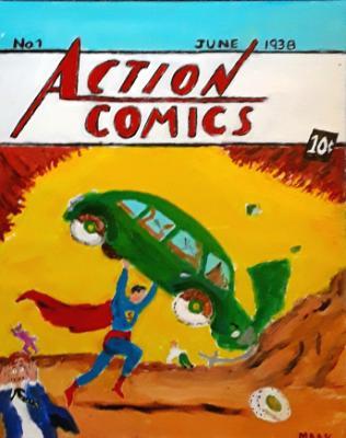 First Superman 1938