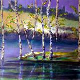 Purple and Birch