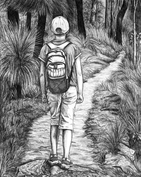 Hiking Girl