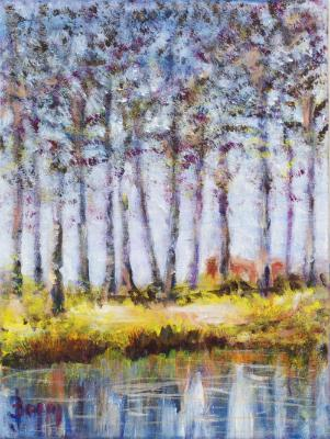 Canal near Bruges - SOLD