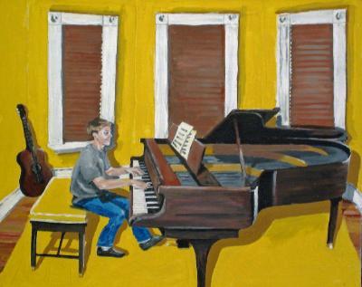 Alex at the Piano