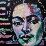 Painting 7 of 10 Fun Frida Commissions