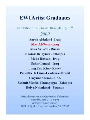 EWI gratuation artists 2009