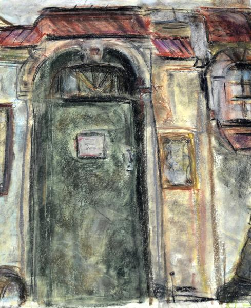 Lighthouse Door 18x24 & Lighthouse Door 18x24 - Marila Guilliams Pezcame.Com
