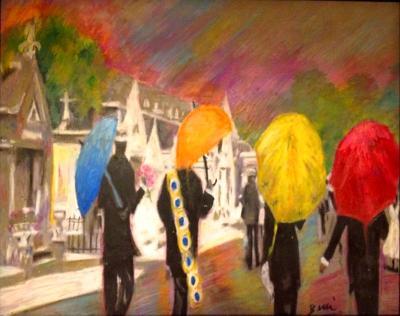 Umbrella Jazz Funeral