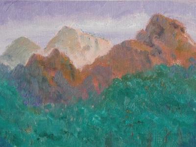Zion Peaks North