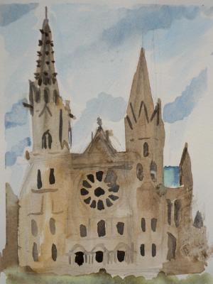 Chartres, Front View