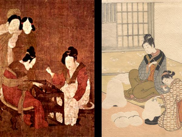 Chinese and Japanese paintings