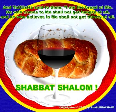 Joh 6:35~Shabbat Shalom