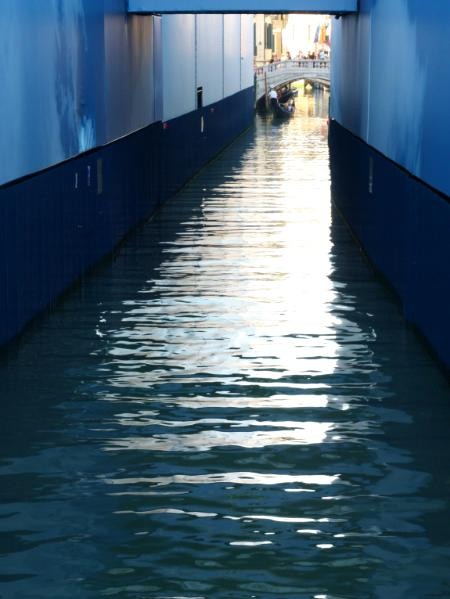 Blue Canal in Venice