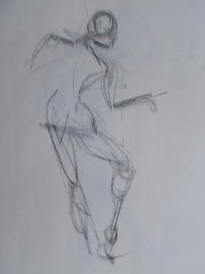 Brittany, Nude Gesture #2