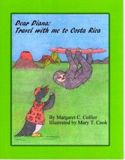 Book Cover - DEAR DIANA: TRAVEL WITH ME TO COSTA RICA