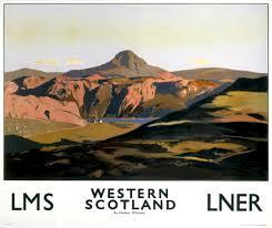 LNER railway poster Scotland