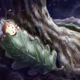 Hiding under a leaf ...