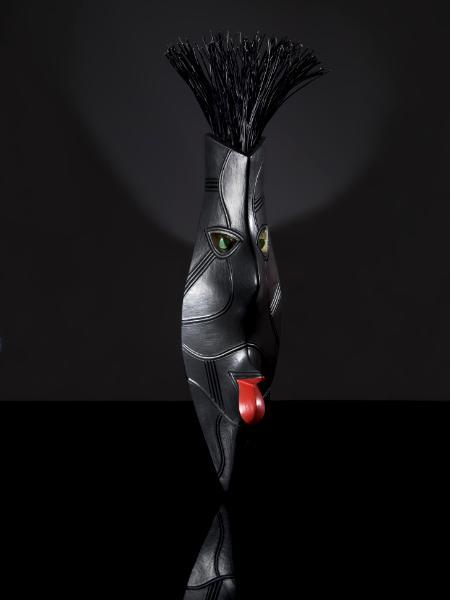 New.... Black Maori Mask