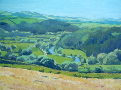 View of the river Taw, North Devon