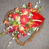 Heart shaped arrangement