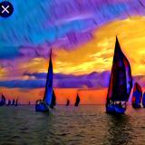 Sailing takes me away