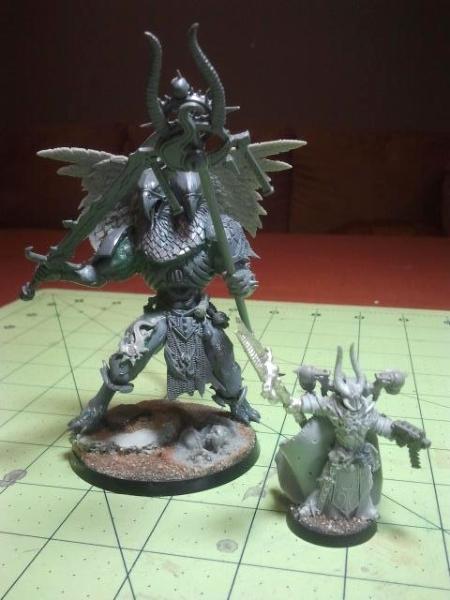 WH40K Tzeentch Daemon Prince & custom Ahriman
