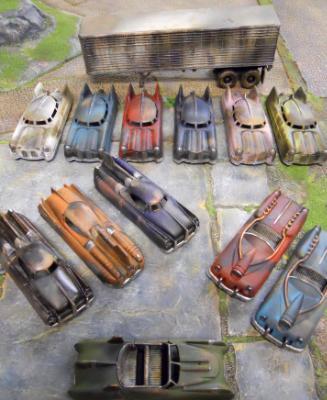 """""""Fallout"""" New Vegas cars"""