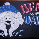 Chalkboard Menu Art