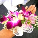Bridal Wrist Corsage/Wristband