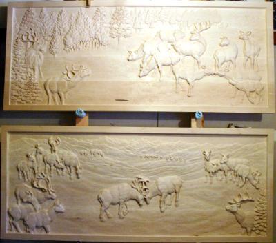 Relief Panels 1&2