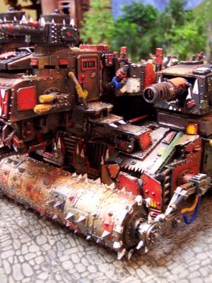 Ork Battle Fortress Roller
