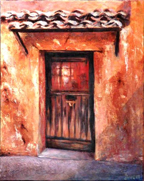 Door - Roussillon - Provence  - SOLD