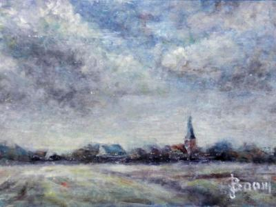 On the Road to Bruges - SOLD