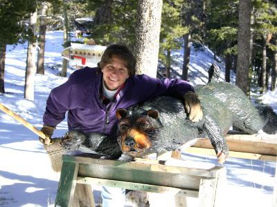 Railing Bear Mama Bear